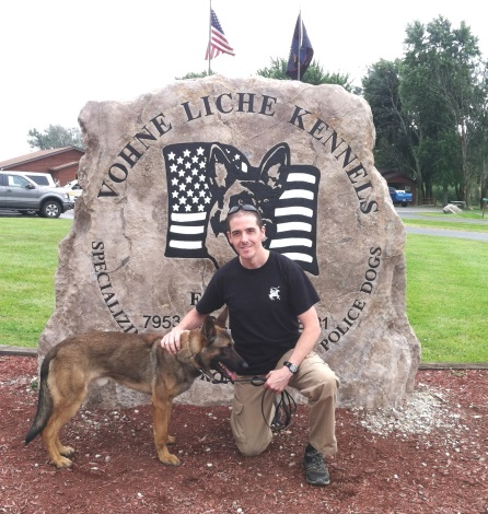 Officer Gates with K9