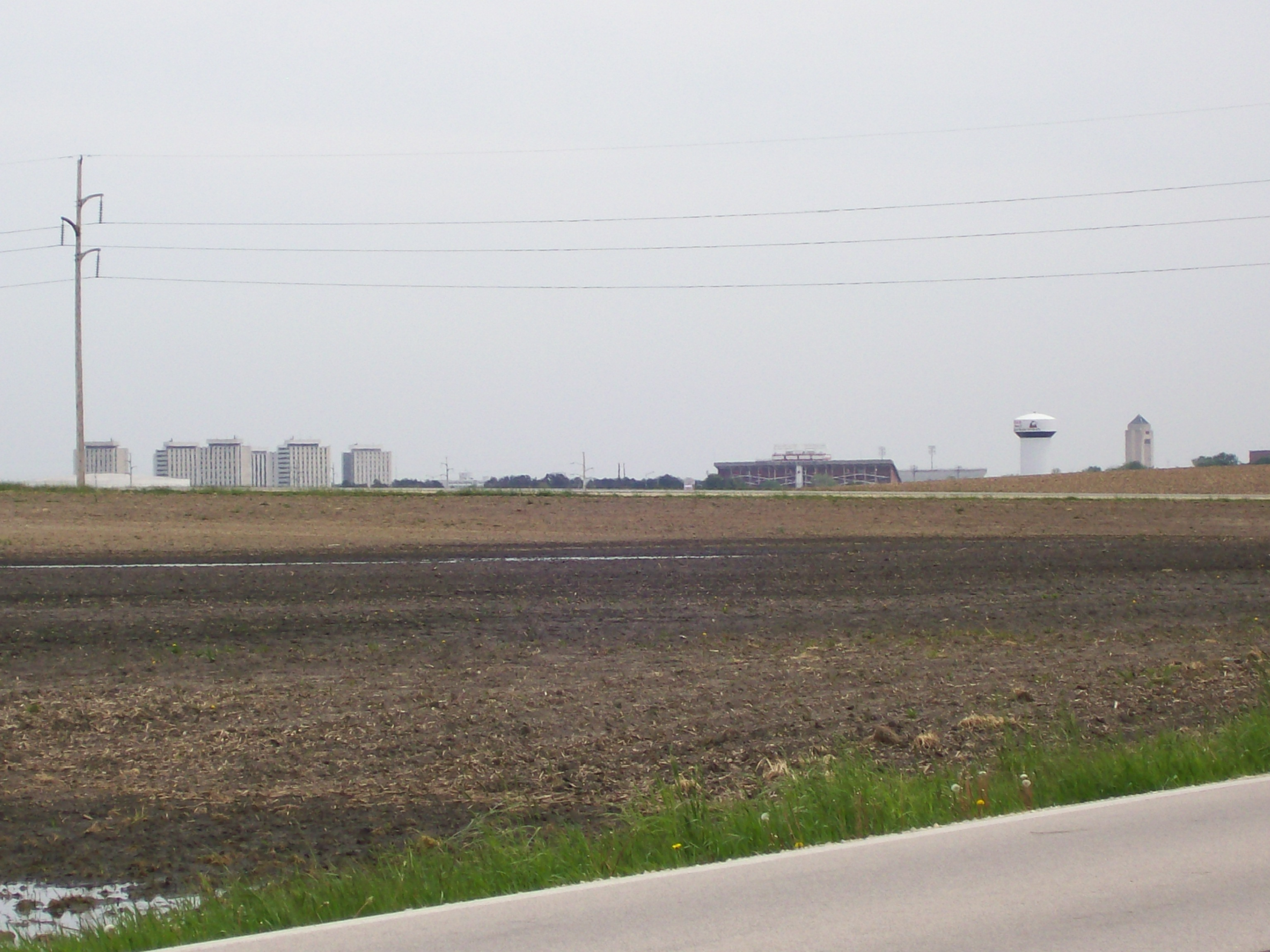 View of NIU from the Corn Fields