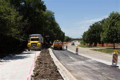 Public Works Road Project