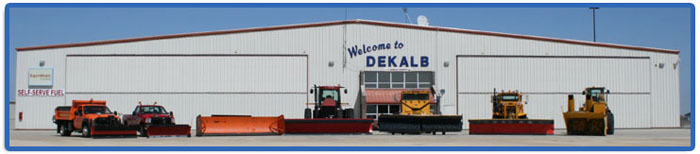 DeKalb Airport Facilities Maintenance Vehicles