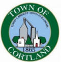 Town of Cortland 3rd Largest Town in Illinois logo
