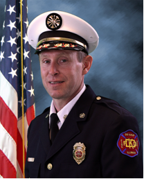 Eric Hicks, Fire Chief
