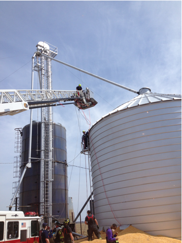 Grain bin operations
