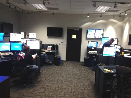 Police Dispatch Room